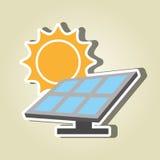 太阳能设计 库存例证
