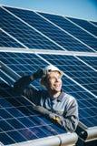 太阳能驻地 库存图片