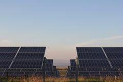 太阳能,太阳电池板,可更新性, PV模块 库存照片
