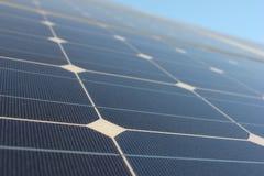 太阳能,太阳电池板,可更新性, PV模块 免版税图库摄影