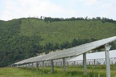 太阳能,太阳电池板,可更新性 图库摄影