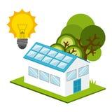 太阳能 向量例证