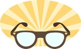 太阳镜的例证 库存图片