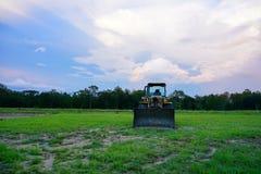 太阳集合的建造场所 图库摄影
