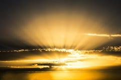太阳集合 库存图片