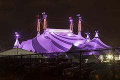 太阳马戏团在多伦多,加拿大 免版税库存照片
