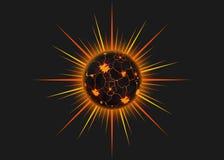 太阳,太阳的光芒, 免版税库存照片