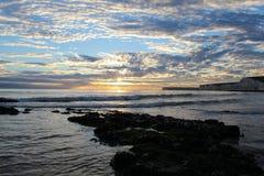 太阳,海, & 海草 库存照片