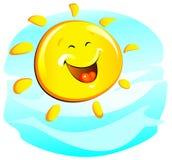 太阳(快乐) 库存图片