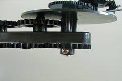 太阳系仪机器手工制造由我的丈夫 免版税库存图片