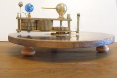 太阳系仪福格逊的矛盾机器模型 库存图片
