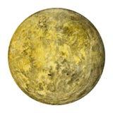 太阳系行星-水星 额嘴装饰飞行例证图象其纸部分燕子水彩 图库摄影