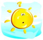 太阳(问) 库存照片
