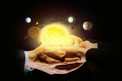 太阳系统 免版税图库摄影