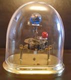 太阳系仪Steampunk艺术时钟 图库摄影