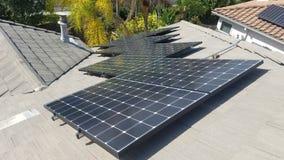 太阳PV 免版税库存图片