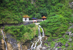太鲁阁国家公园。台湾 免版税图库摄影