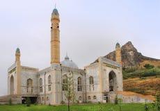太Sulayman清真寺在奥什市,吉尔吉斯斯坦 免版税图库摄影