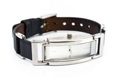 夫人方形手表 免版税库存图片