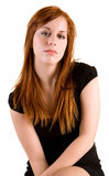 夫人红头发人 图库摄影