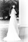 夫人维多利亚女王时代的年轻人 免版税库存照片