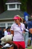 夫人职业高尔夫球运动员乐喜汤普森毕马威妇女的PGA冠军2016年 免版税库存图片