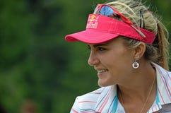夫人职业高尔夫球运动员乐喜汤普森毕马威妇女的PGA冠军2016年 图库摄影