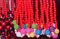 夫人装饰品时髦的设计多色项目背景照片 免版税库存图片