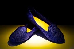 夫人鞋子 免版税库存照片