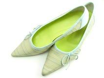 夫人鞋子 免版税图库摄影
