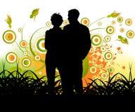 夫妇人 免版税库存照片