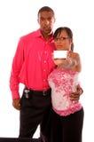 夫妇介绍 免版税库存照片