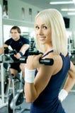 夫妇体育运动 免版税库存照片