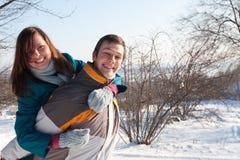 夫妇使用 免版税图库摄影