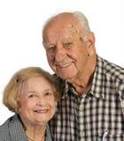 夫妇供以人员老妇人 免版税库存图片