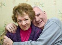 夫妇前辈 免版税库存图片