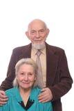 夫妇前辈 库存图片