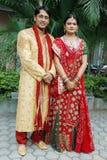 夫妇印地安人 库存图片
