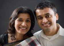 夫妇印地安人 图库摄影