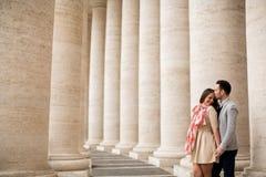 夫妇在罗马 库存图片