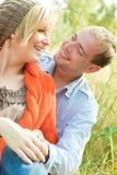 夫妇天然公园 免版税库存照片