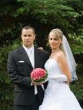 夫妇婚礼年轻人 免版税库存照片