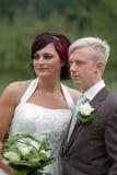 夫妇婚礼 图库摄影