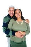 夫妇少数民族 免版税库存照片