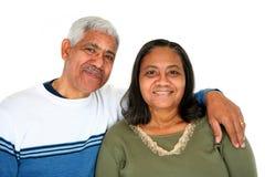 夫妇少数民族 免版税库存图片