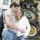 夫妇布拉格 免版税图库摄影