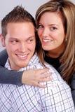 夫妇年轻人 图库摄影