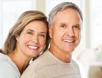 夫妇年长的人 库存照片