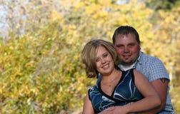 夫妇幸福 免版税库存照片