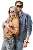夫妇性感的年轻人 库存照片